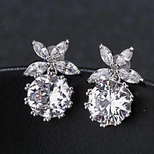 Beautiful Crystals Stud Earrings